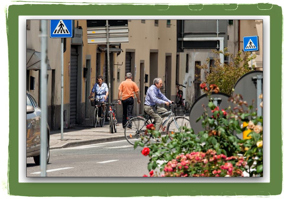 4 bici, 2 uomini, 1 donna